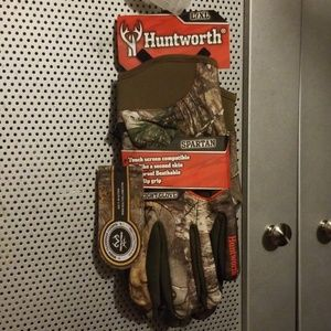 Huntworth Midweight Hunting Gloves Spartan L/XL
